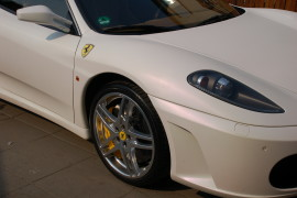 Zmian koloru dachu cabrio, Ferrari F430